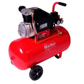 Компрессор Moller AC 250/035 1800W, 2 выхода, 2 манометра