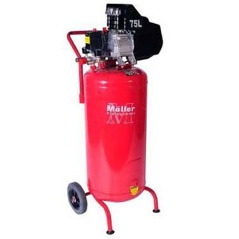 Компрессор Moller AC 290/075 1800W, ресивер 75 л вертикальный