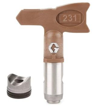 Сопло Graco RAC X HDA 231 для шпаклевки и густых составов купить, отзывы, характеристики