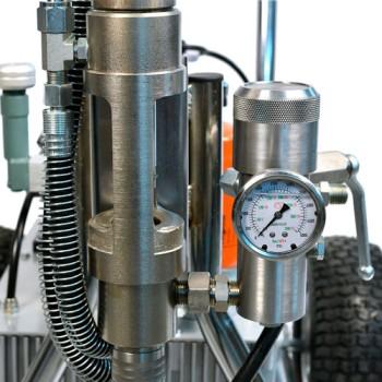 ASPRO-12000 гидропоршневой  безвоздушный аппарат для шпаклевки и покраски купить, отзывы, характеристики  Форвард Строй - Москва, Волоколамское шоссе, 103, тел. +7 (495) 208-00-68