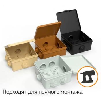 Электромонтажная коробка для прямого монтажа купить, отзывы, характеристики  Форвард Строй - Москва, Волоколамское шоссе, 103, тел. +7 (495) 208-00-68