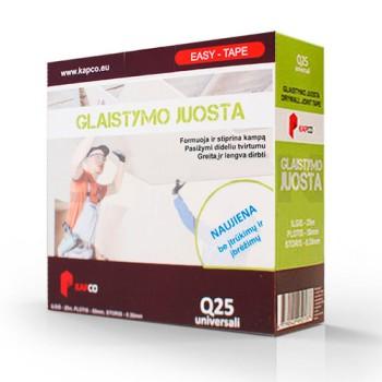 KAPCO EASY TAPE Q-25 композитная лента для стыков 0,35 мм купить, отзывы, характеристики  Форвард Строй - Москва, Волоколамское шоссе, 103, тел. +7 (495) 208-00-68