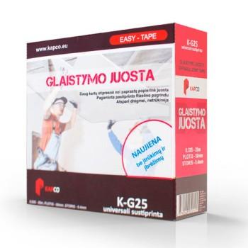 KAPCO EASY TAPE K-G25 композитная лента для стыков 0,4 мм купить, отзывы, характеристики  Форвард Строй - Москва, Волоколамское шоссе, 103, тел. +7 (495) 208-00-68