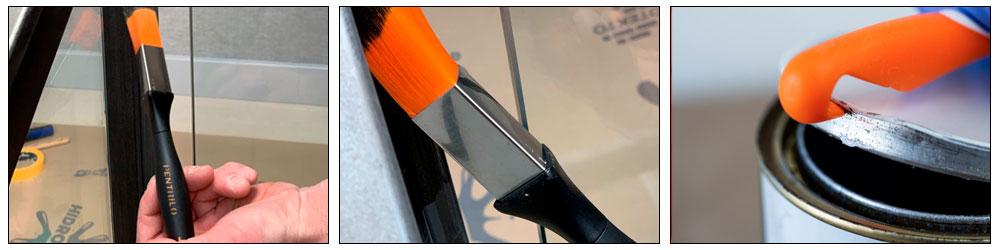 Кисть треугольная PENTRILO VELOUREX S-75 синтетическая 22 мм 97522 | Форвард Строй - Москва, Волоколамское шоссе, 103, тел. +7 (495) 208-00-68