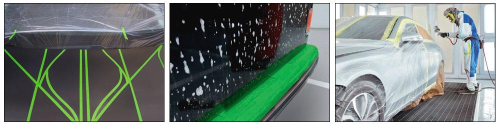 Малярная лента Pentrilo GREENMASK с каучуковым клеем на растворителе   Форвард Строй - Москва, Волоколамское шоссе, 103, тел. +7 (495) 208-00-68