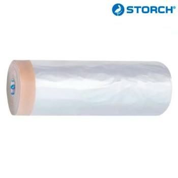 Защитная плёнка CoverQuick с бумажной малярной лентой STORCH PROFI CQ Folie  Форвард Строй - Москва, Волоколамское шоссе, 103, тел. +7 (495) 208-00-68