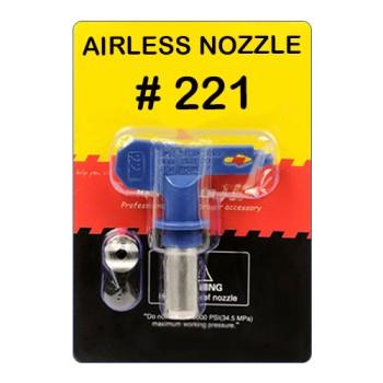Сопло реверсивное  №221 (для красок с высокой вязкости) купить, цена, отзывы, оптом