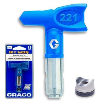 Сопло Graco RAC X PAA 221 для промышленной покраски купить, отзывы, характеристики