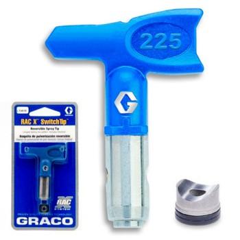 Сопло Graco RAC X PAA 225 для промышленной покраски купить, отзывы, характеристики